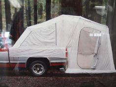 Truck and Ground Tent
