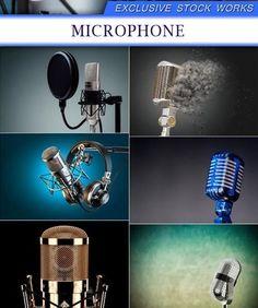 Стоковые фото – Микрофоны 11X JPEG