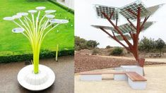 Innovative Urban Park Benches: Outdoor Seating image 25