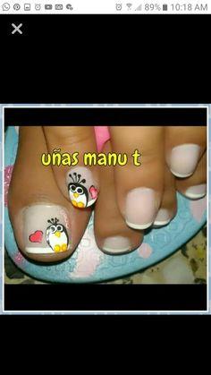 Bonita La decoración de los pies Camila, Toe Nails, Beauty, Work Nails, Toe Nail Art, Feet Nails, Pedicures, Nail Designs, Nail Manicure