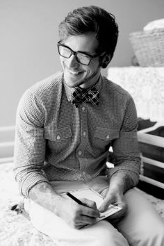 Guys in Bowties! Need me a bowtie!