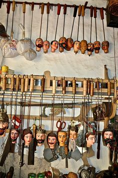 Puppet #Workshop in #Palermo, #Sicily