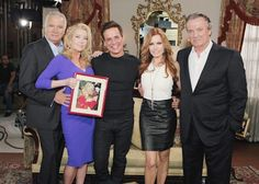 Join The Young and the Restless as they remember the late, great Mrs. C today. #YR   Aug. 27, 2014