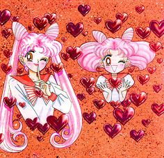 Sailor Moon- small lady- Rini