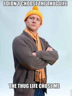 How can you not love Martin Freeman?