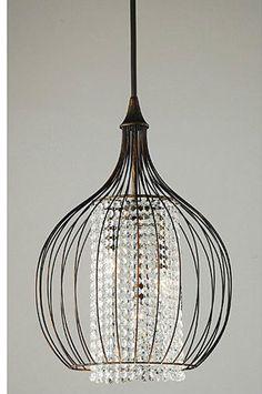 modern bling chandelier