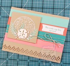 Stampin Up Paper Pumpkin, Pumpkin Cards, Beach Cards, Homemade Cards, Stampin Up Cards, Scrapbooks, Craft Supplies, Projects To Try, Tropical