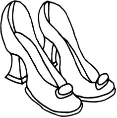 home coloring pages fashion beauty high heels