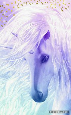 Wallpaper unicorn fantasy fairy art Ideas for 2019 Unicorn Painting, Unicorn Drawing, Unicorn Art, Purple Unicorn, White Unicorn, Unicorn And Fairies, Unicorn Fantasy, Magical Unicorn, Mythical Creatures Art