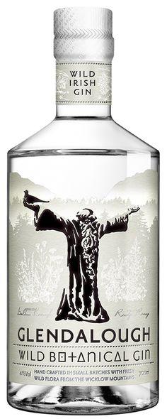 Glendalough Wild Botanical Gin  | #packaging #bottledesign #gin