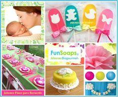 Paletas de jabón para recuerdo de baby shower....funsoaps@hotmail.com