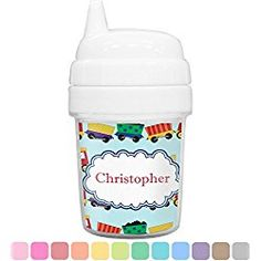 Trains Baby Sippy Cup (Personalized)