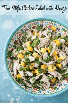 A good chicken salad with fruits and herbs is one of my favorite things to eat during the warmer months. It pairs well with other salads for a lighter meal or spooned into lettuce cups for a quick wrap. via @CarrieVitt2
