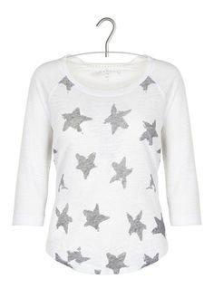 Tee-shirt en lin Blanc by SUD EXPRESS