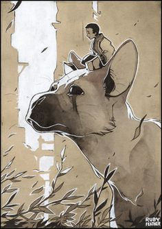 THe Last Guardian by RubyFeather