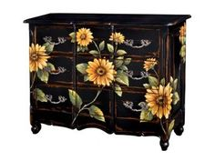 Bramble Provence 3 Drawer Narrow Dresser 25193