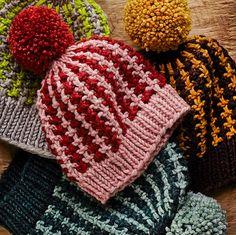 Ravelry: Slip-Stitch Cap pattern by Thea Colman