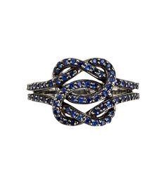 33fa7fc4c2c7 Sidney Garber-Double Love Knot Ring ashlee justoneeye.com