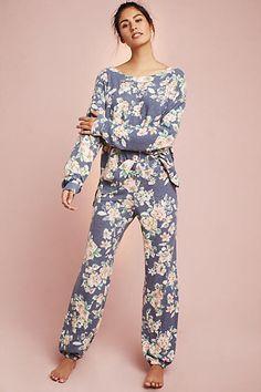 Floreat Floral Brushed Fleece Joggers #ad