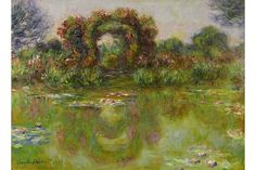 """Claude Monet was the best selling artist at auction in His work """"Bassin aux Nympheas"""" is shown here. To see the entire list of the Top Ten Artists at auction of 2015 visit Robin Rile Fine Art. Claude Monet, William Turner, Puzzles, Phoenix Art Museum, Monet Paintings, Pierre Auguste Renoir, Gustav Klimt, Henri Matisse, Water Lilies"""