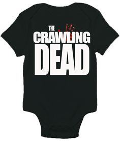 The Crawling Dead One-piece Baby Bodysuit