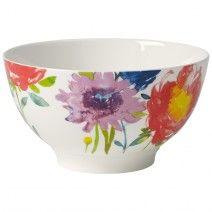 Anmut Flowers Rice Bowl 20 oz