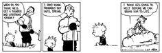 Calvin wants a storm