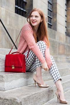 Check Pants Outfit - Retro Sonja Fashion Blogger