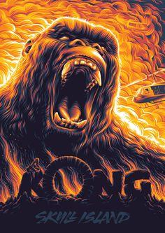 Kong: Skull Island Poster - Created by Aleksey Rico