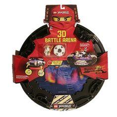 Lego Ninjago Battle Arena mit Sensei Wu Spinner - 853106