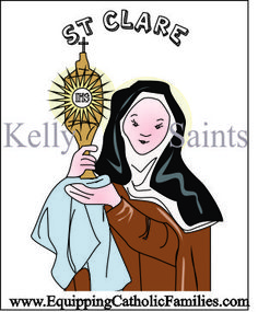 Feast Day Fun: St Clare of Assisi