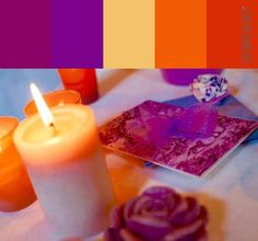 Tema Color Candle