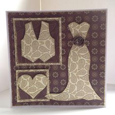 Card designed by Julie Hickey using Opulence collection and Wedding template.