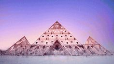 Watch: An Epic Time-Lapse Of Burning Man