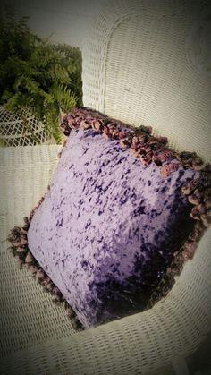 Custom Velveteen Pillow 20/20.. by MyShabbyValentine on Etsy, $25.00