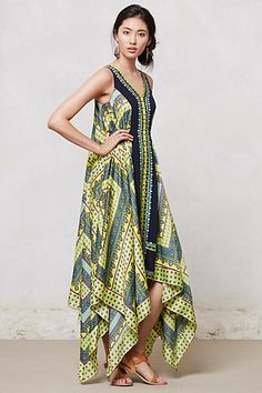 OMG!!!!!!! This dress is awesome!!! Sahila Maxi Dress #anthropologie