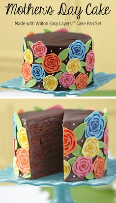 Chocolate + Flowers = The Perfect Mother's Day!