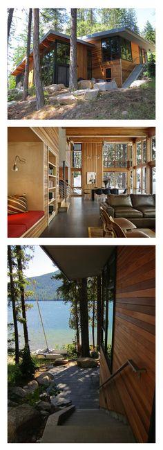 Cabin on Lake Wenatchee, Washington