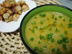 Sopa de Ervilha Francesa