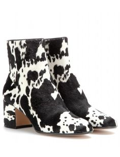 #gianvitorossi - mytheresa.com exclusive pony-hair ankle boots
