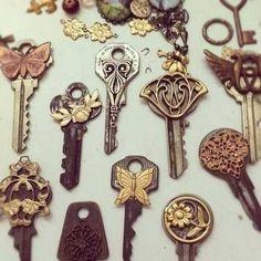 Come riciclare vecchie chiavi