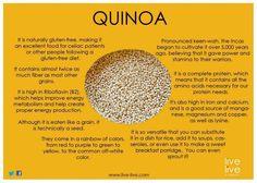 Meet Quinoa, your new best friend! #Michisladder #Healthycarb #protein