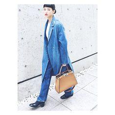 Denim Fashion, Womens Fashion, Self Image, Fashion Brand, Fashion Design, My Style, Lady, Coat, Casual