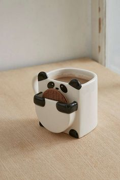 Slide View: 1: Panda Hug Mug