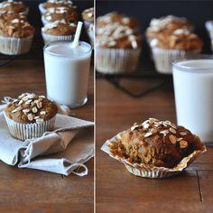 Vegan Pumpkin Apple Muffins!!