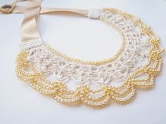 Crochet Lace Jewelry
