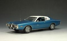 1973 Dodge Charger with a white top, have wanted this car a long time