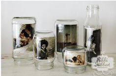 Retrato en jarros