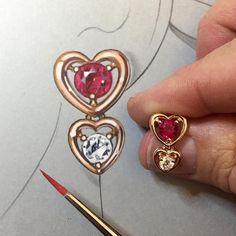 Happy Valentine's Day everyone! From my heart to yours ❤️ A sneak peek at my new Echo Earrings on JTV #jtvjewelrylove #valentinesday #earrings #loveisallyouneed #ilovedesign #fortheloveofdesign #affordableluxury #jewelryartist #jewelrydesigner #jewellerydesign #remyrotenier