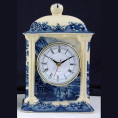 Image result for blue and white clocks